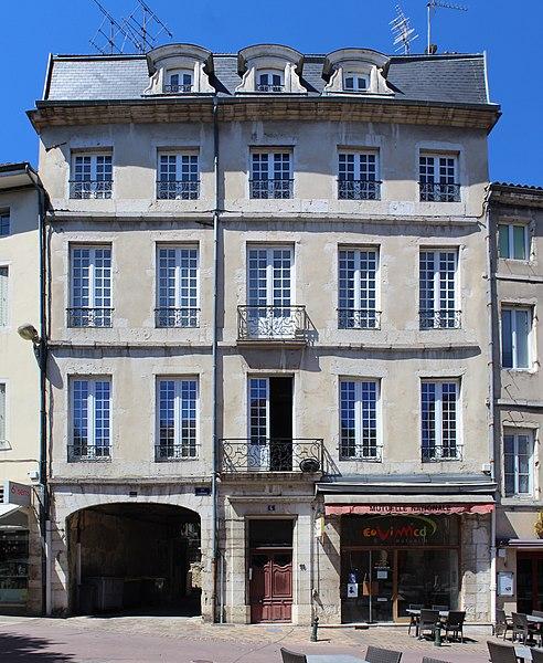Photo du Monument Historique Maison situé à Bourg-en-Bresse