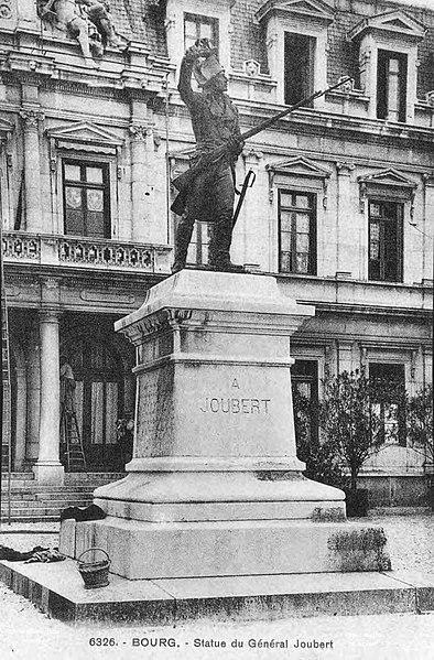 Photo du Monument Historique Monument du général Joubert situé à Bourg-en-Bresse