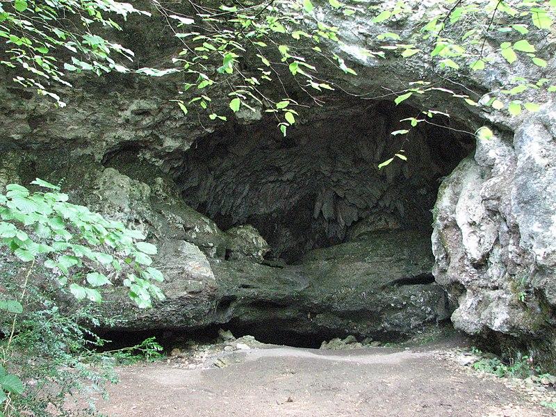 Photo du Monument Historique Abri sous roche dit Grotte préhistorique de la Bonne-Femme situé à Brégnier-Cordon