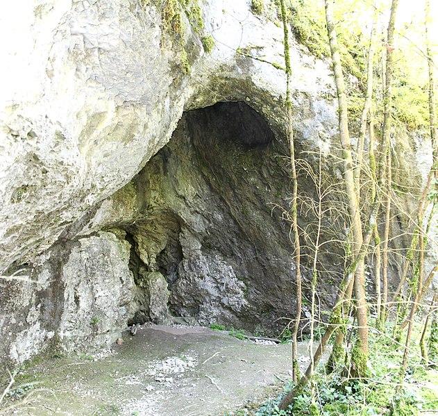 Photo du Monument Historique Abri sous roche dit Grotte préhistorique de Lievrin situé à Brégnier-Cordon