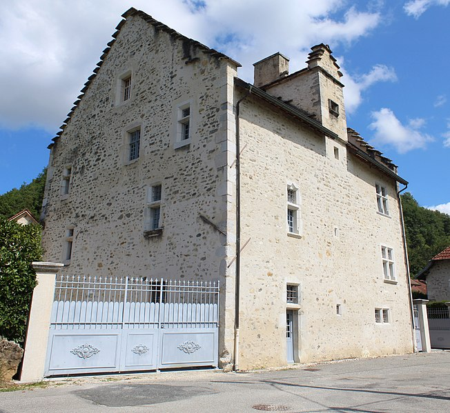 Photo du Monument Historique Maison Brillat situé à Chazey-Bons