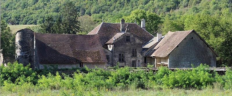 Photo du Monument Historique Château des Eclaz situé à Cheignieu-la-Balme
