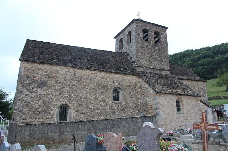 Photo du Monument Historique Eglise situé à Cleyzieu