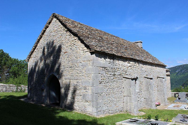 Photo du Monument Historique Eglise de Saint-Maurice d'Echazeaux situé à Corveissiat