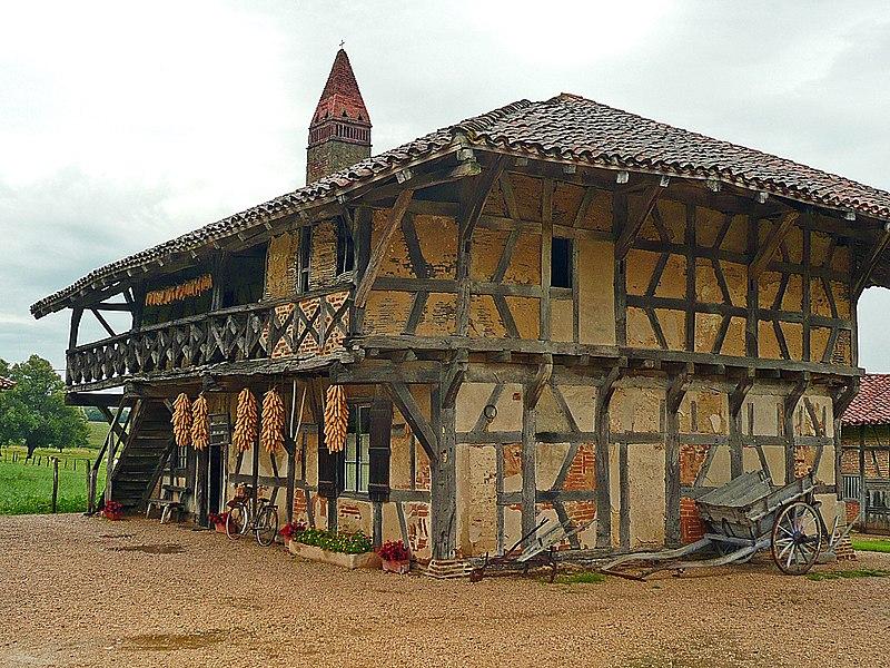 Photo du Monument Historique Ferme de la Forêt (ensemble) situé à Courtes