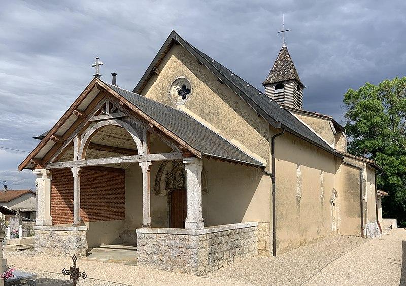 Photo du Monument Historique Eglise Notre-Dame situé à Crans