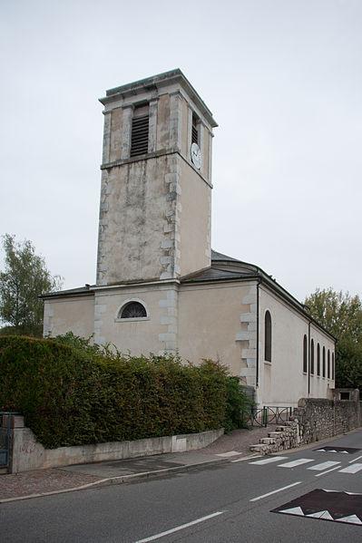 Photo du Monument Historique Eglise Notre-Dame-de-l'Assomption situé à Ferney-Voltaire