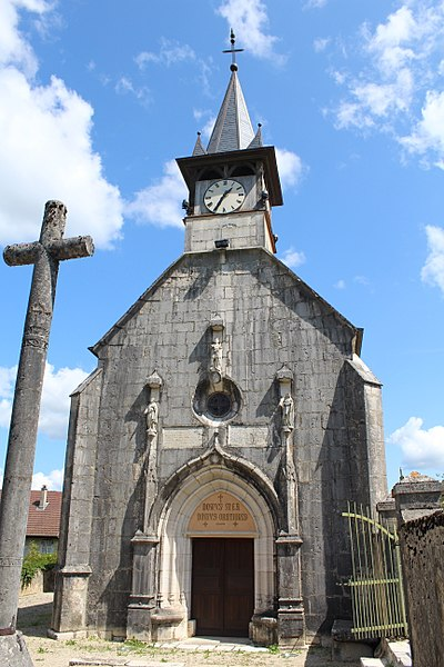 Photo du Monument Historique Eglise Saint-Maurice situé à Flaxieu