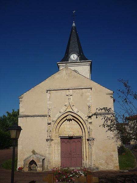 Photo du Monument Historique Eglise Saint-Etienne situé à Frans
