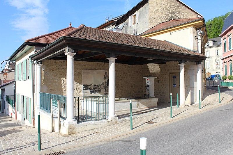 Photo du Monument Historique Lavoir situé à Gex