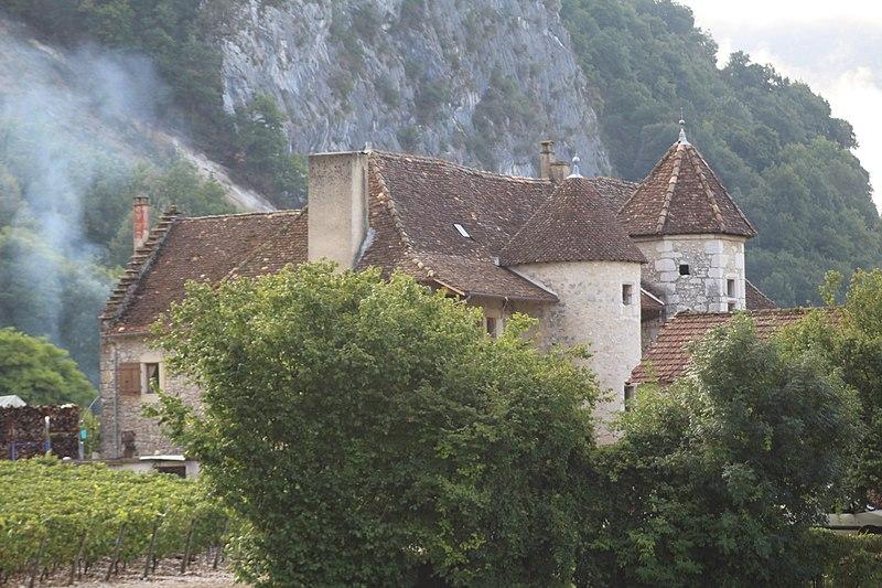 Photo du Monument Historique Château de Varepe situé à Groslée