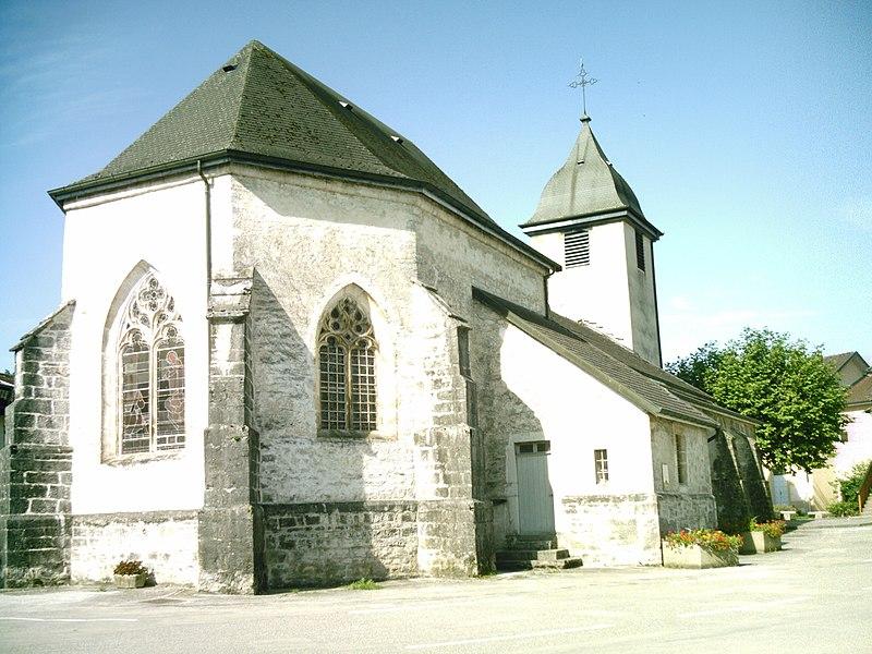 Photo du Monument Historique Eglise situé à Izernore