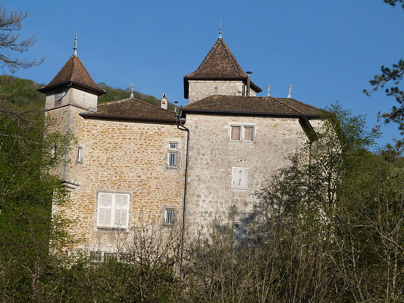 Photo du Monument Historique Château de Coiselet situé à Matafelon-Granges