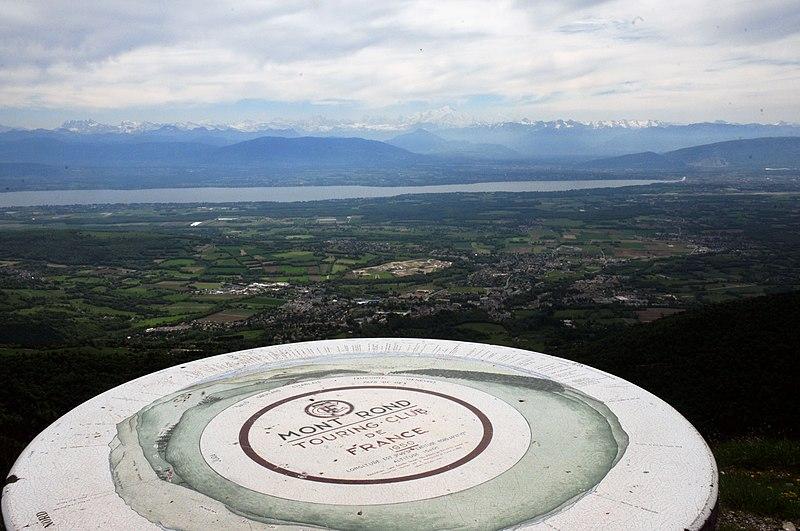 Photo du Monument Historique Zone autour de la table d'orientation de Montrond situé à Mijoux