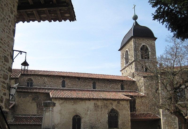 Photo du Monument Historique Eglise Sainte-Marie-Madeleine situé à Pérouges
