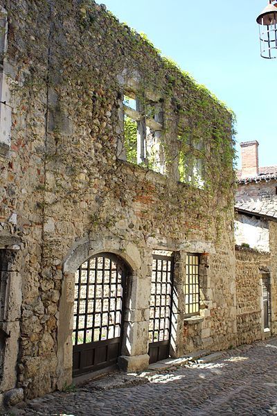 Photo du Monument Historique Maison Martinet et Grassin situé à Pérouges
