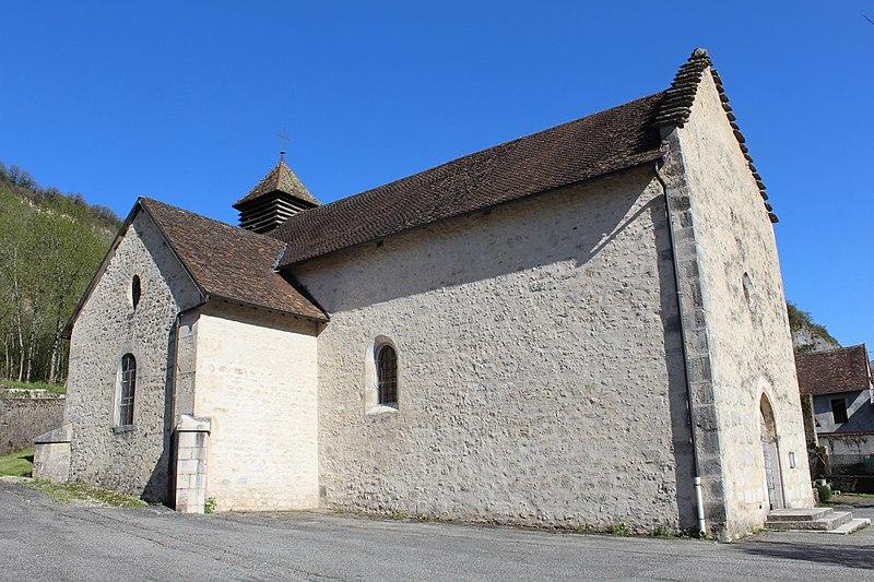 Photo du Monument Historique Eglise Saint-Pierre situé à Rossillon