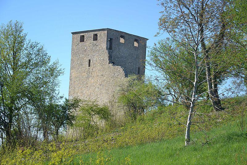 Photo du Monument Historique Château situé à Saint-Denis-en-Bugey