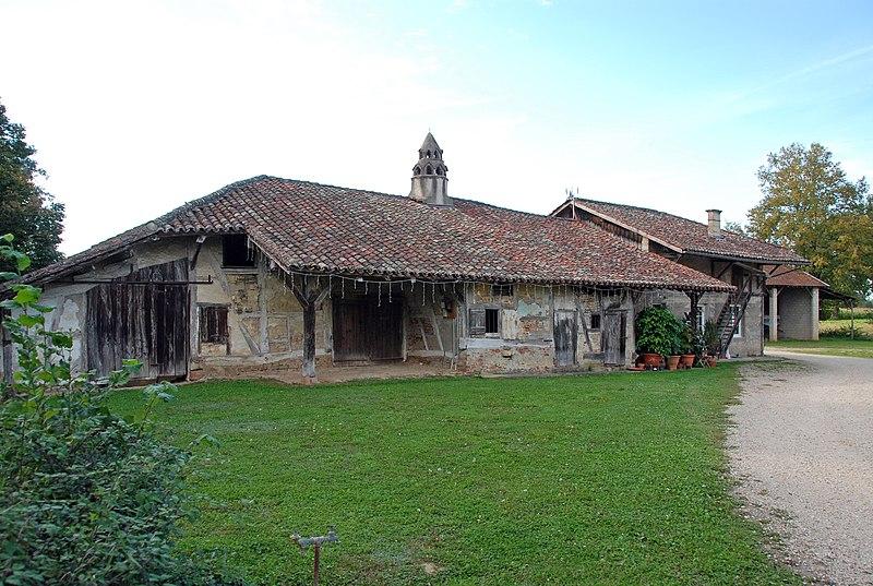 Photo du Monument Historique Ferme situé à Saint-Didier-d'Aussiat