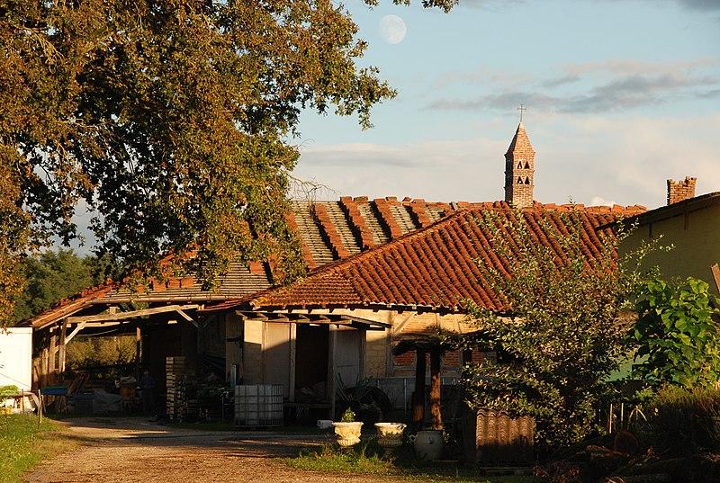 Photo du Monument Historique Ferme Bourbon situé à Saint-Nizier-le-Bouchoux