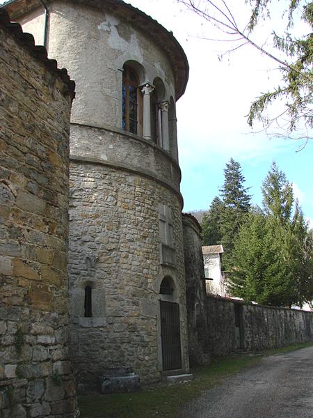 Photo du Monument Historique Abbaye situé à Saint-Rambert-en-Bugey