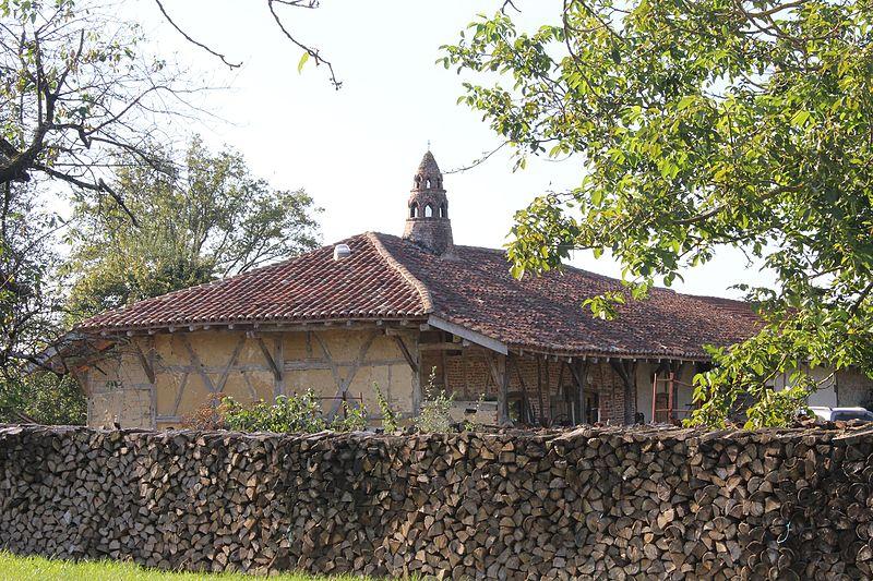 Photo du Monument Historique Ferme des Broguets situé à Saint-Sulpice