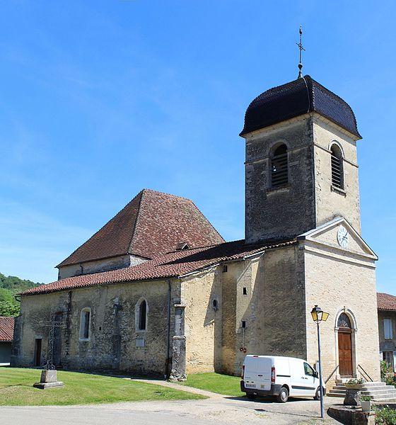 Photo du Monument Historique Eglise situé à Verjon