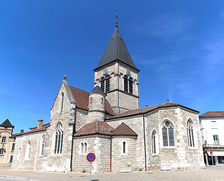 Photo du Monument Historique Eglise de la Nativité-de-la-Sainte-Vierge situé à Villars-les-Dombes