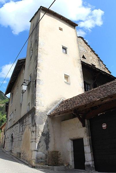 Photo du Monument Historique Maison Mugnier situé à Virieu-le-Grand