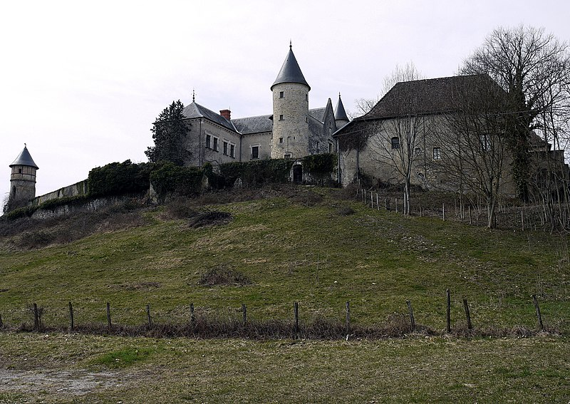 Photo du Monument Historique Château d'Andert situé à Andert-et-Condon