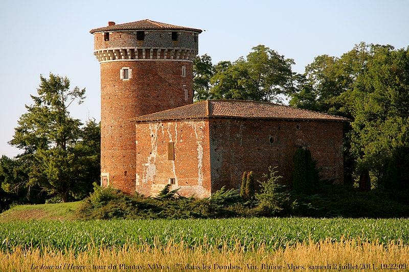 Photo du Monument Historique Tour et bâtiment annexe situé à Le Plantay