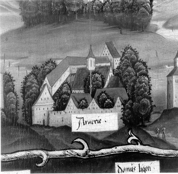 Photo du Monument Historique Chartreuse d'Arvières situé à Lochieu