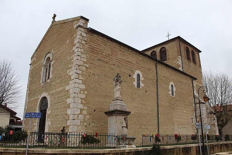 Photo du Monument Historique Eglise Saint-Pierre situé à Le Plantay