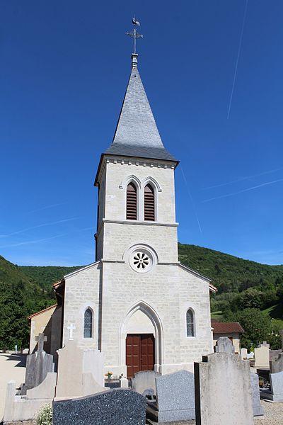Photo du Monument Historique Eglise Saint-Laurent situé à Pressiat