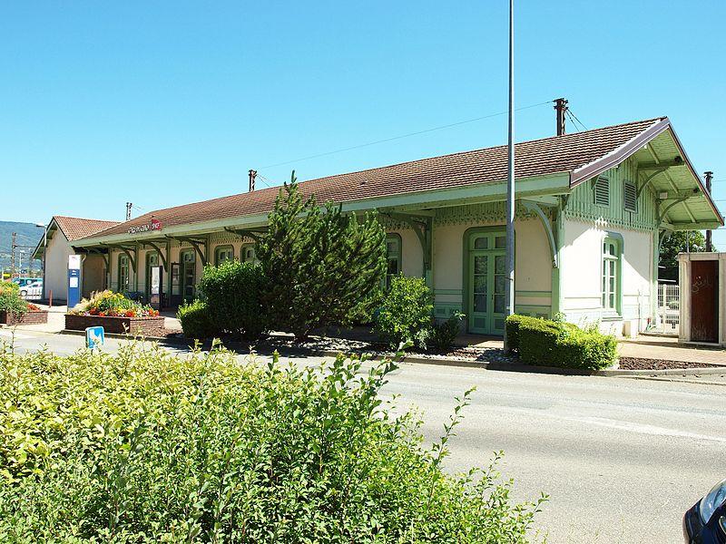 Photo du Monument Historique Gare situé à Culoz