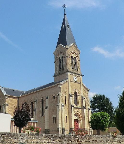 Photo du Monument Historique Eglise Sainte-Euphémie situé à Sainte-Euphémie