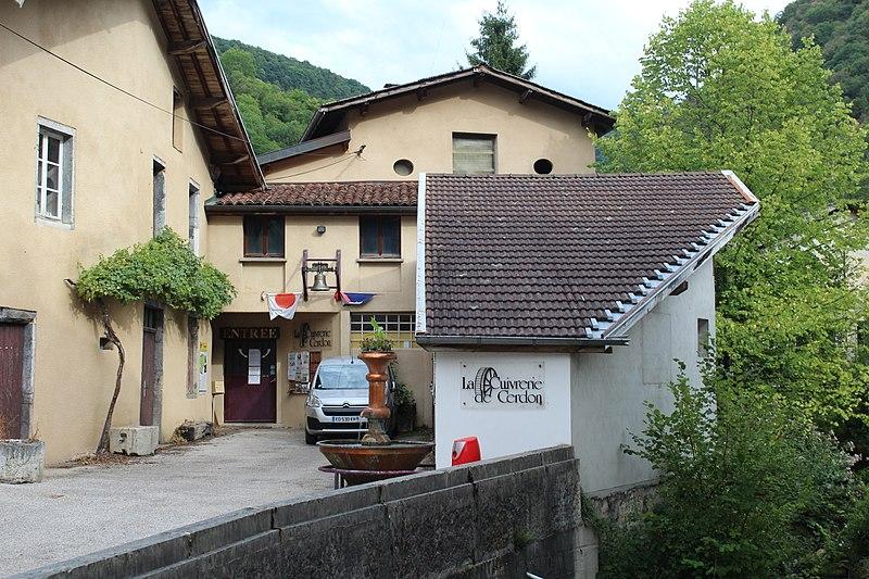 Photo du Monument Historique Cuivrerie de Cerdon situé à Cerdon