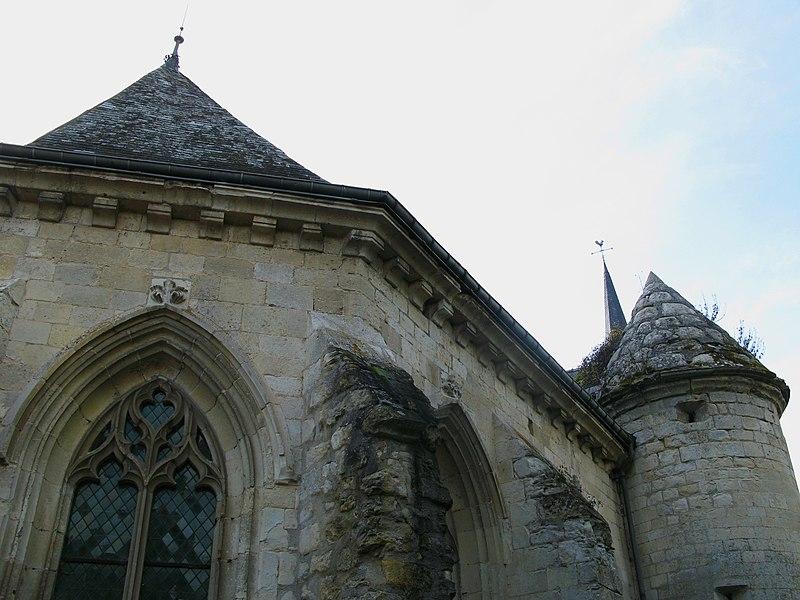 Photo du Monument Historique Eglise situé à Agnicourt-et-Séchelles