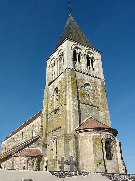 Photo du Monument Historique Eglise situé à Barenton-Bugny