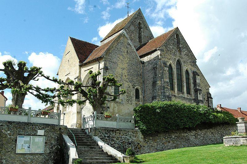 Photo du Monument Historique Eglise situé à Baulne-en-Brie