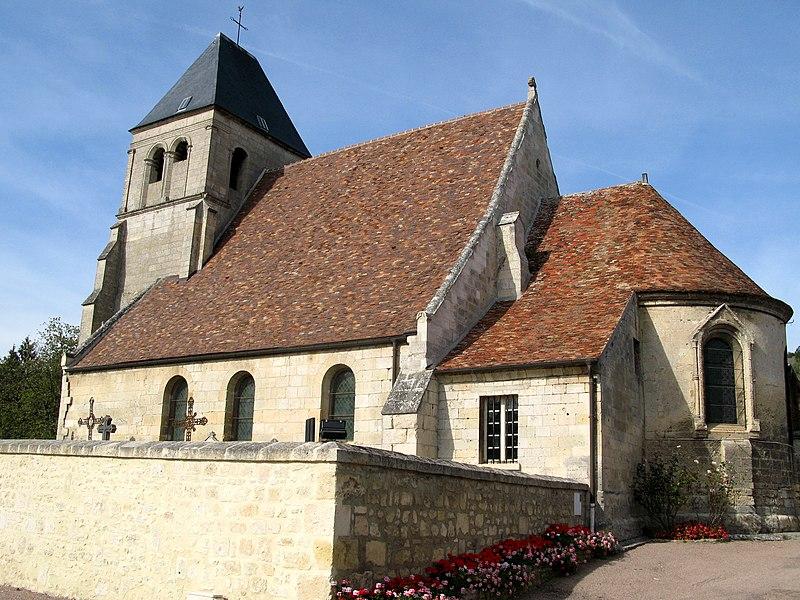 Photo du Monument Historique Eglise situé à Berny-Rivière