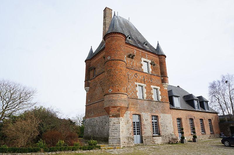 Photo du Monument Historique Ancien château situé à Bois-lès-Pargny