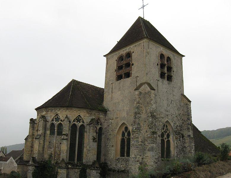 Photo du Monument Historique Eglise situé à Bonneil