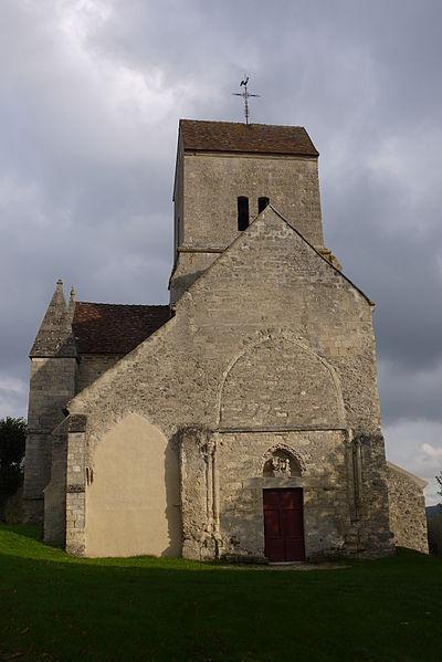 Photo du Monument Historique Eglise Saint-Crépin situé à Brumetz