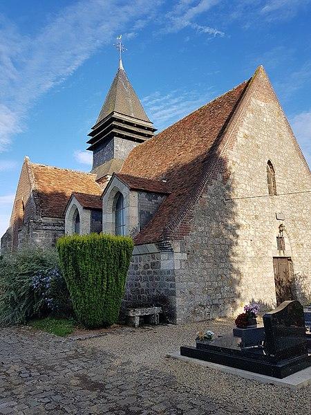 Photo du Monument Historique Ancienne église Saint-Pierre situé à Caumont