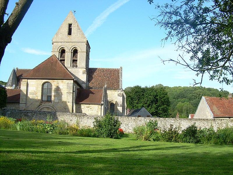 Photo du Monument Historique Eglise situé à Chaillevois