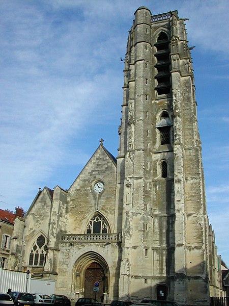 Photo du Monument Historique Eglise Saint-Crepin situé à Château-Thierry