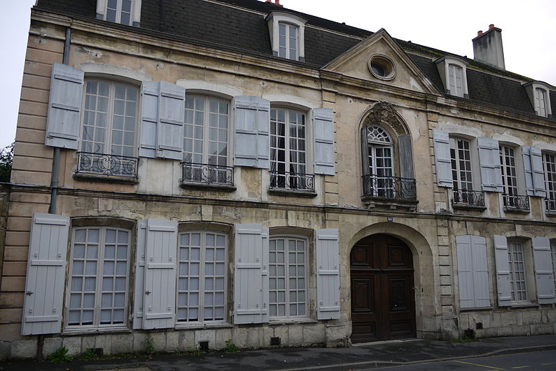Photo du Monument Historique Hôtel situé à Château-Thierry