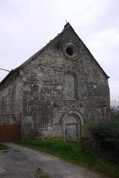 Photo du Monument Historique Ancienne chapelle de la Ferme des Dames situé à Chéry-Chartreuve