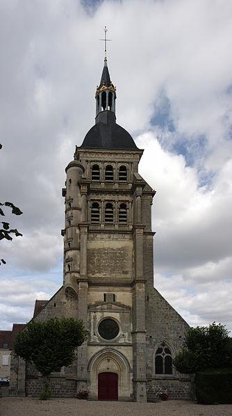 Photo du Monument Historique Eglise Saint-Martin situé à Chézy-sur-Marne